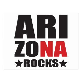 Arizona Rocks! State Spirit Gifts and Apparel Postcard