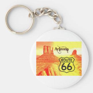 Arizona Route 66 Keychain