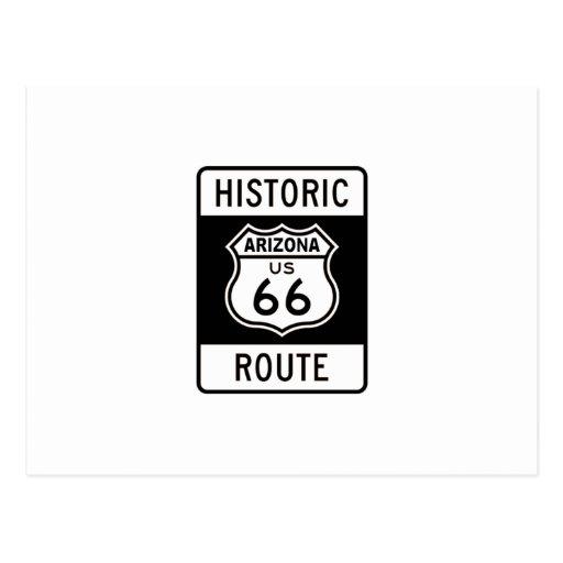 Arizona Route 66 Postcard