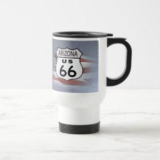 Arizona Route 66 Travel Mug