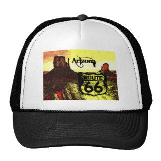 Arizona Route 66 Western Mesh Hat