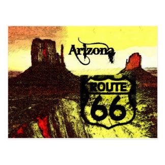 Arizona Route 66 Western Post Card