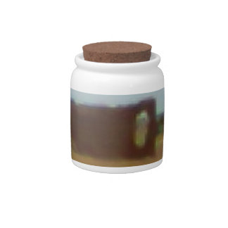 Arizona Rubble Ranch #2 Candy Jar