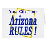 Arizona Rules ! Greeting Card