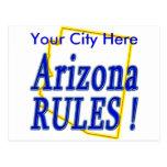 Arizona Rules ! Postcard