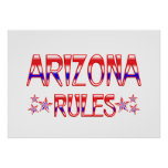 Arizona Rules Posters