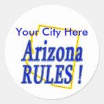 Arizona Rules ! Sticker