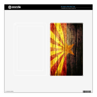 Arizona Rustic old wood Decals For Kindle Fire