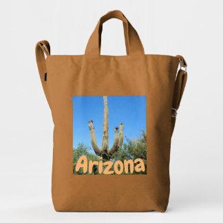 Arizona Saguaro Cactus Duck Bag
