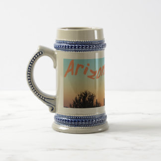 Arizona! Saguaro Sunset Beer Stein