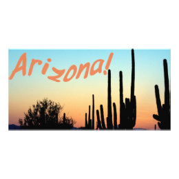 Arizona! Saguaro Sunset Card