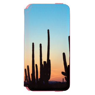 Arizona! Saguaro Sunset iPhone 6/6s Wallet Case