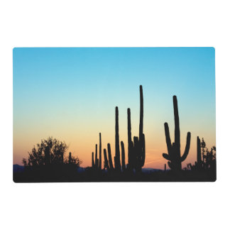 Arizona! Saguaro Sunset Placemat