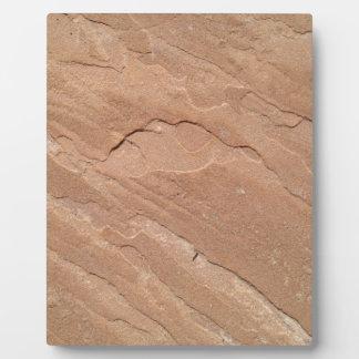 Arizona Sandstone Display Plaque