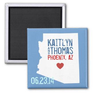 Arizona Save the Date - Customizable City Magnet