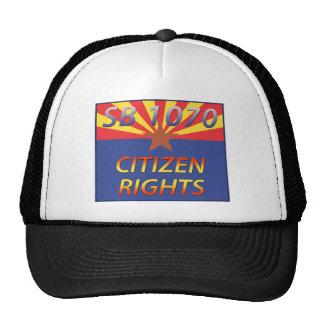 Arizona SB 1070 Citizen Rights Hat
