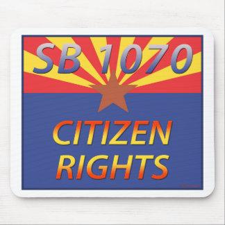 Arizona SB 1070 Citizen Rights Mouse Pad
