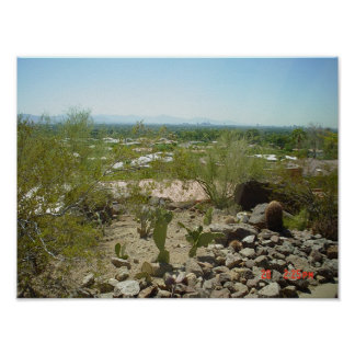 arizona scenery poster