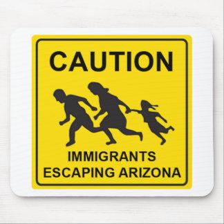 Arizona sign mouse pad
