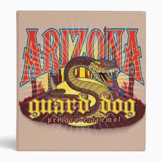 Arizona Snake on Guard 3 Ring Binder