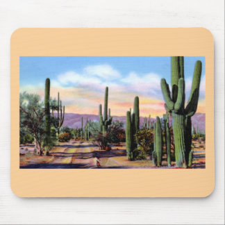 Arizona Sonoran Desert Scene Mouse Pad