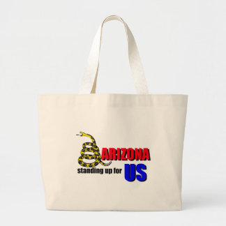 ARIZONA, standing up for US Canvas Bag