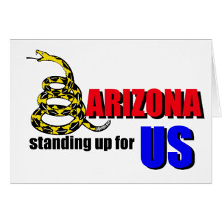 ARIZONA, standing up for US Greeting Cards