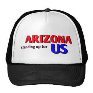 ARIZONA standing up for US Mesh Hat