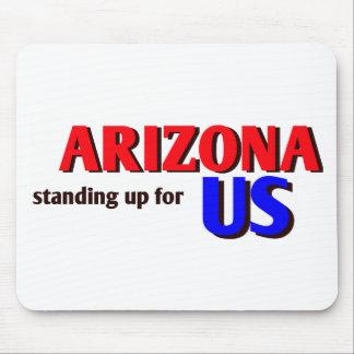ARIZONA, standing up for US Mousepad