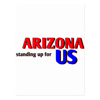 ARIZONA, standing up for US Post Cards