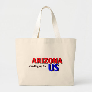 ARIZONA, standing up for US Tote Bags
