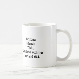 Arizona StandsTALL Coffee Mug