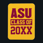 """Arizona State Alumni Class Of Magnet<br><div class=""""desc"""">Check out these new Arizona State University designs! Show off your ASU Sun Devil pride with these new Arizona State products. These make perfect gifts for the Sun Devils student, alumni, family, friend or fan in your life. All of these Zazzle products are customizable with your name, class year, or...</div>"""