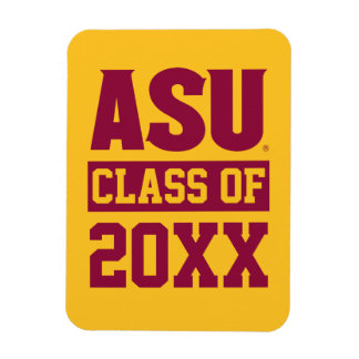 Arizona State Alumni Class Of Magnet