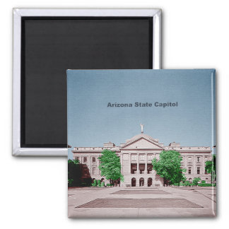 Arizona State Capitol Tinted Colorized Magnet