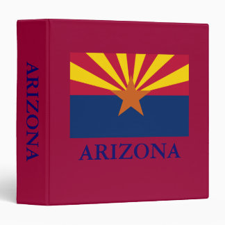 Arizona State Flag 1 1/2 in Binder