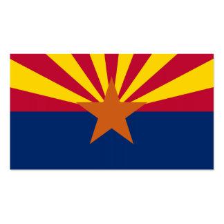 arizona state flag business cards templates zazzle
