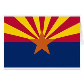 Arizona State Flag Card
