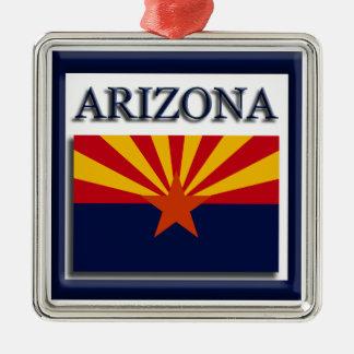 Arizona State Flag Christmas Ornament