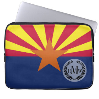 Arizona State Flag Computer Sleeve