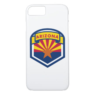 Arizona State Flag Crest iPhone 8/7 Case