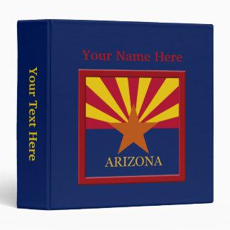 Arizona State Flag Custom Binder