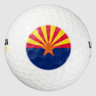 Arizona State Flag Design Golf Balls