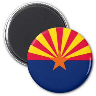 Arizona State Flag Design Magnet