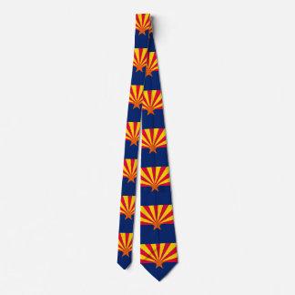 Arizona State Flag Design Neck Tie