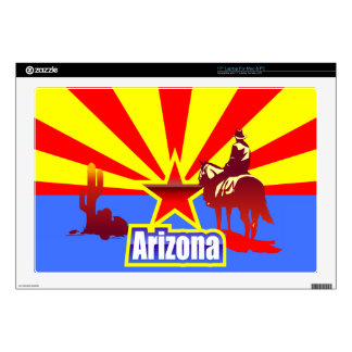Arizona State Flag Drawing Decal For Laptop