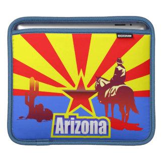 Arizona State Flag Drawing iPad Sleeve