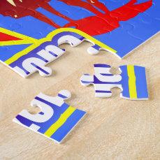 Arizona State Flag Drawing Jigsaw Puzzle