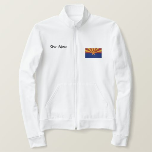Arizona State Flag Embroidered Jacket