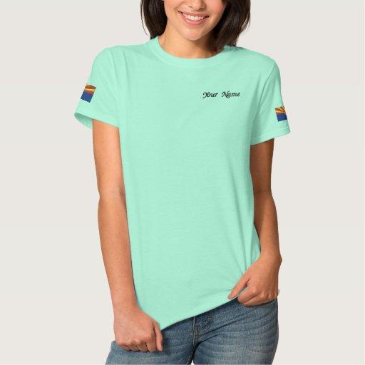 Arizona State Flag Embroidered Shirt